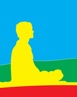 Graphic_meditator 2